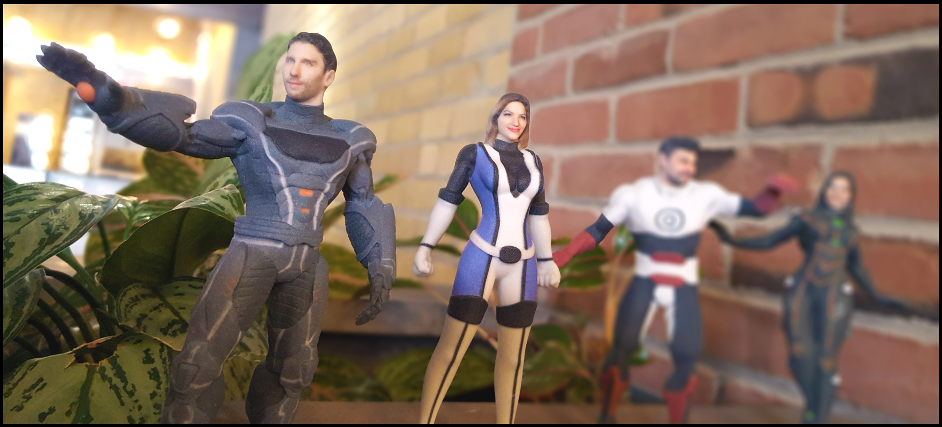 Superheroes - 3D Printing Action Figures | My 3D Agency