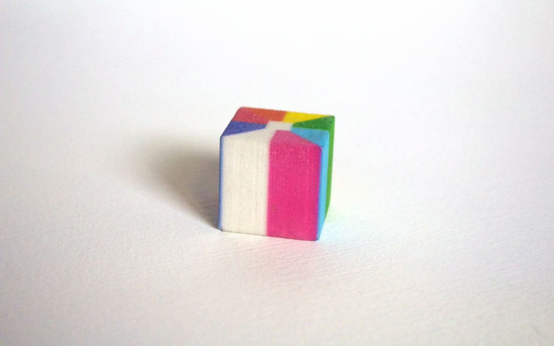 multi-color cube