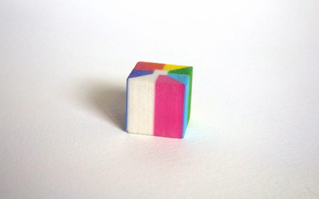 multi-color cube