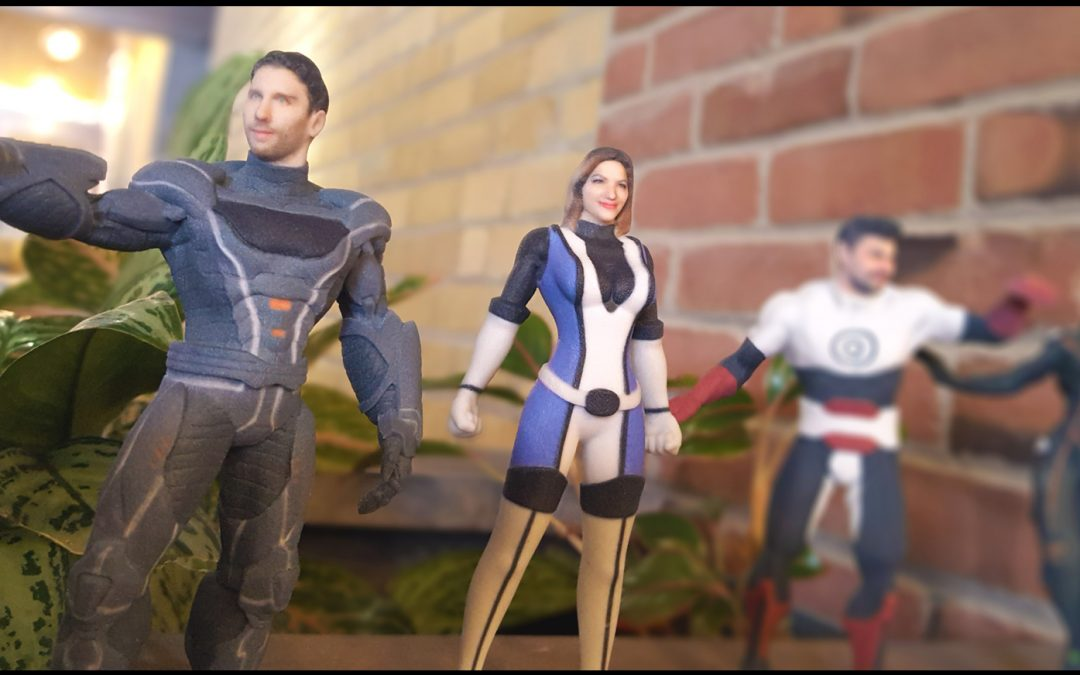 3d printed action figures