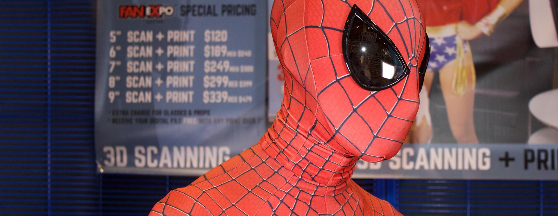 comic character spiderman