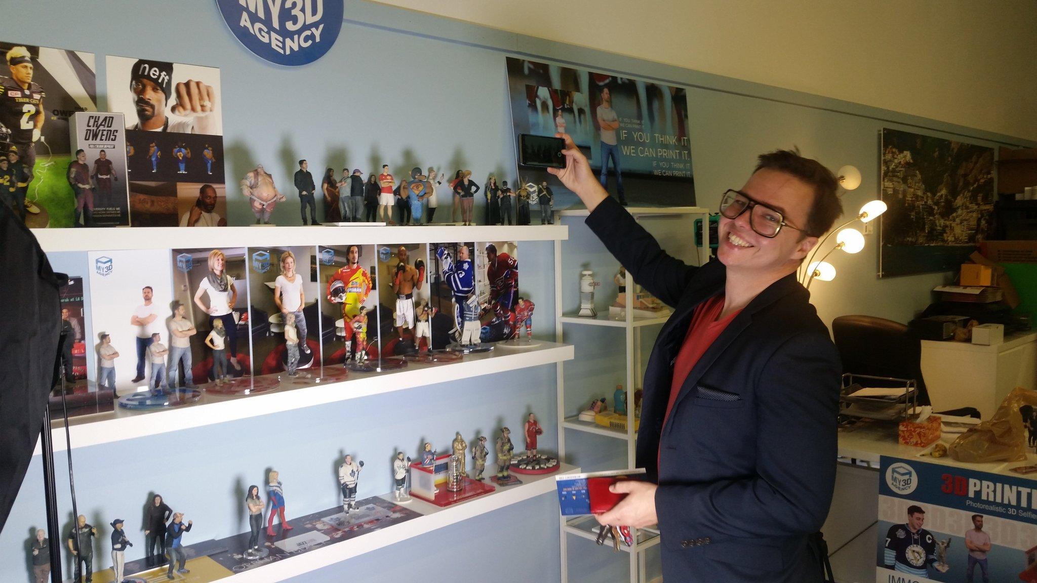 Sean Ward Show at My3D Agency in Toronto