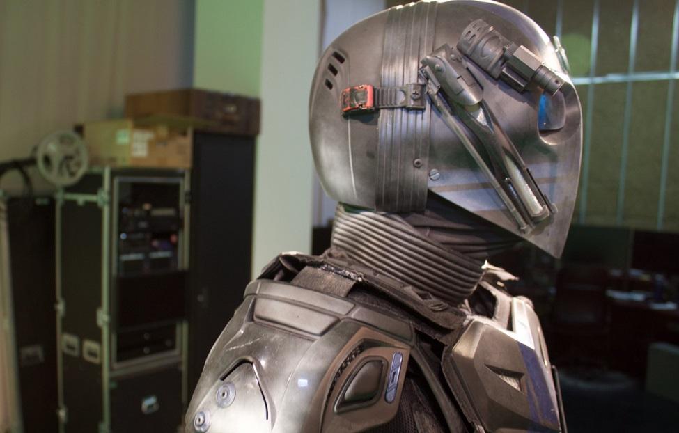 police superhero crime fighter in York Region gets 3D scanned
