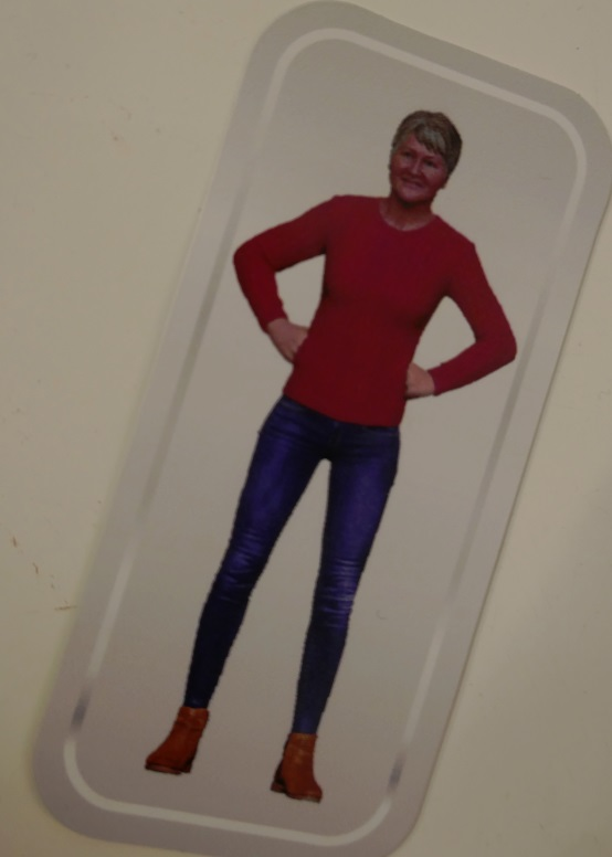 Campbells Souper You action hero playing card - 3D printing from 2D photos