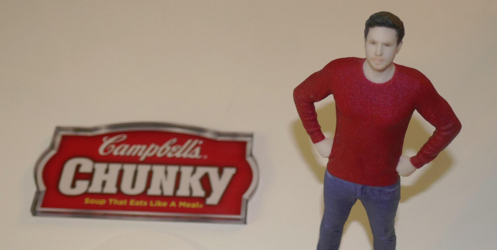 initial Souper Hero for Campbells Soups