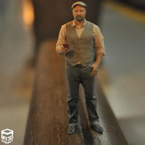 3d printed figurine pub guy