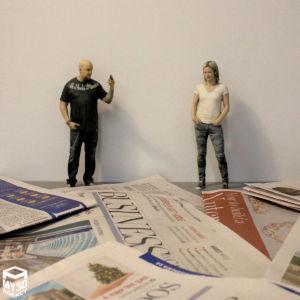 3d printed figurine people
